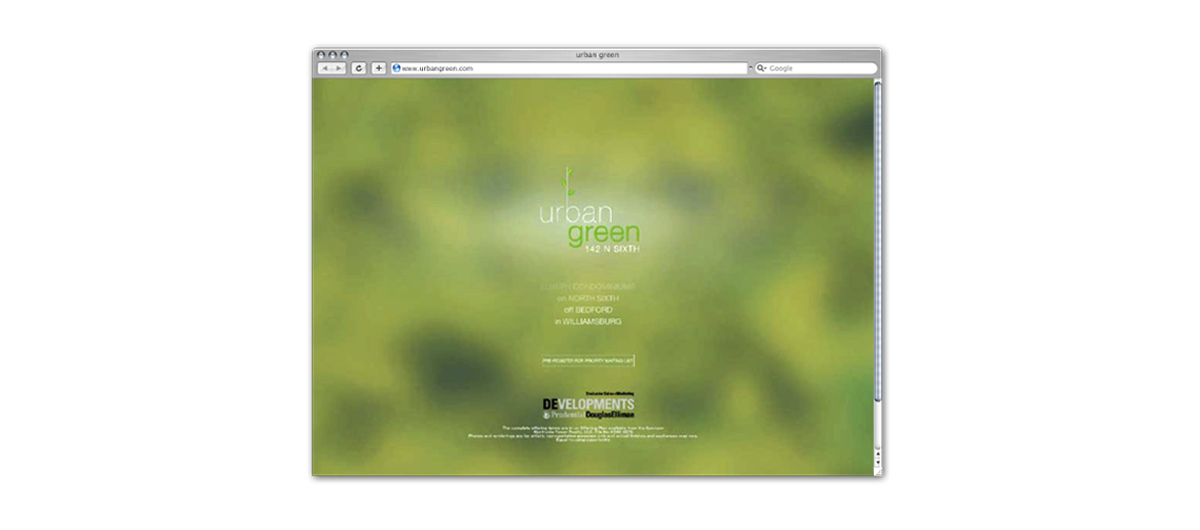 web design urbangreen